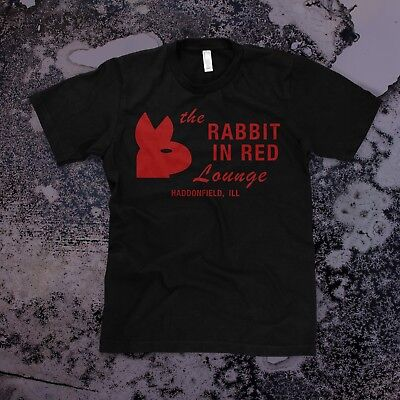 Halloween 1978 T-shirt (Rabbit in Red t-shirt Mens, Black -- Michael Myers Halloween Movie 1978)