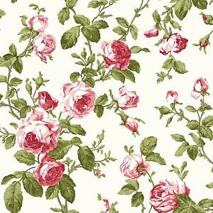 Rose wallpaper ebay for Bright pink wallpaper uk