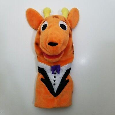 Baby Einstein Giraffe Hand Puppet Plush Baby Beethoven - Giraffe Puppet