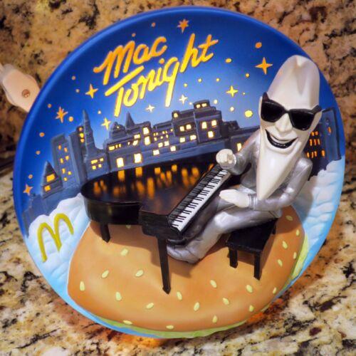 McDonalds Mac Tonight Night Sky Light-up Moon 3-D Collector