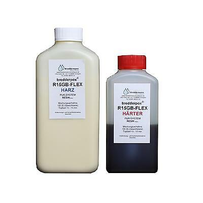 Gießharz flexible, gummiartige Endfestigkeit, z.B. für Ersatzteile / 650 g