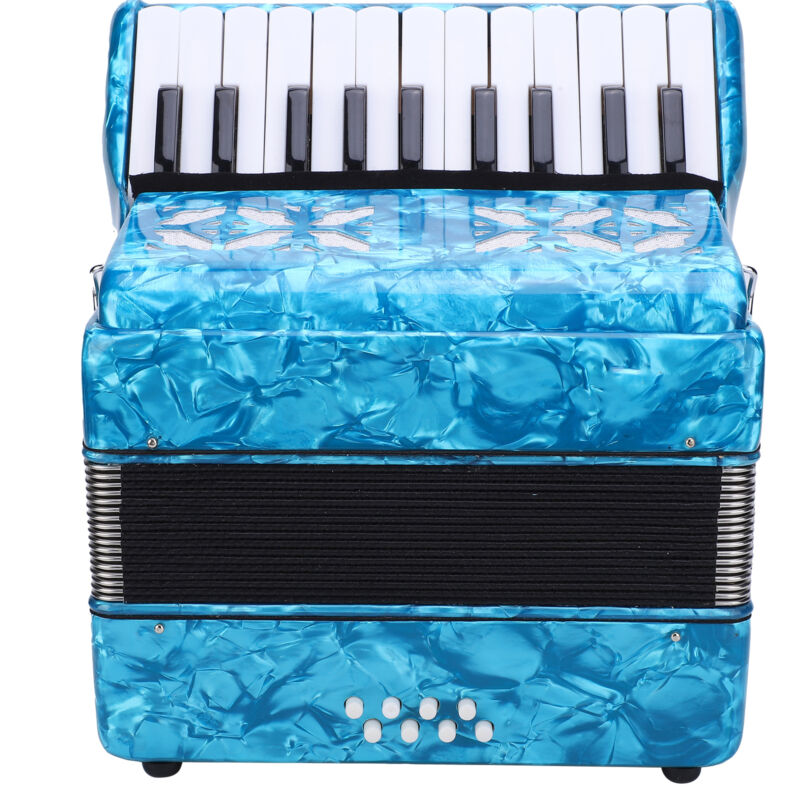 Piano Accordion Student 22 Keys 8 Bass Posted from UK address