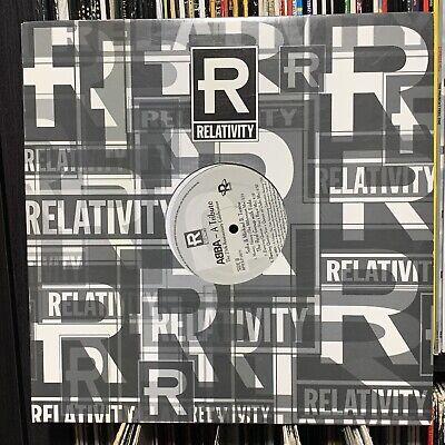 """ABBA 12"""" A TRIBUTE 1999 DANCING QUEEN remixes RPROLP 0879 NM Vinyl Record FRIDA"""