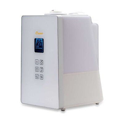 Crane Warm and Cool Mist Humidifier with Ionizer digital 360 degree no