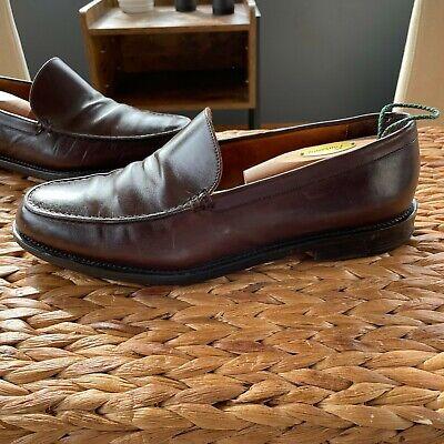 Crockett & Jones Ralph Lauren Brown Leather Loafers Size 11D