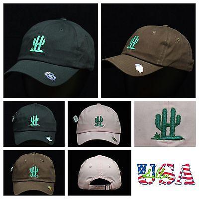 Cactus Dad Hat Plain Baseball Cap Unstructured Fashion Hats Casual Cotton Caps