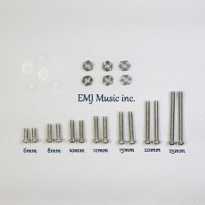 EMJ 7 size Brass Screw Set for phono cartridge & headshell 7A Free Shipping