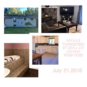 Saturday open house