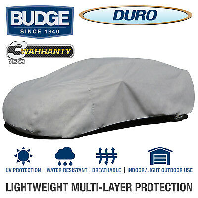 Budge Duro Car Cover Fits Sedans up to 22' Long | UV Protect | Breathable