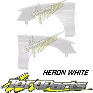 PAIR HERON WHITE GUARDS SUIT VY VZ HOLDEN COMMODORE FENDER QUARTE Bayswater Knox Area Preview