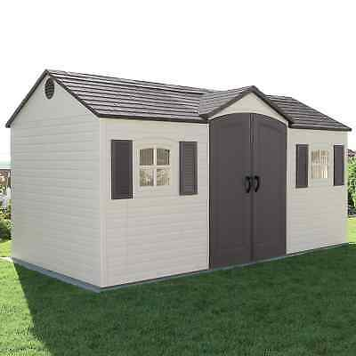 Outdoor Backyard Storage Shed Garden Lawn Building Tool Kit Garage Patio Deck