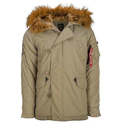 Alpha Industries-XXL, N-3B(N) Khaki Explorer Parka Jacket,Extreme Weather,BNWT for sale  Shipping to Ireland