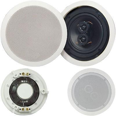 Calidad 16.5cm 100W Dual Tweeter Estéreo Altavoz de Techo 8Ohm Compacto Hi-Fi...