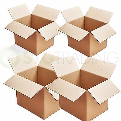10 x SINGLE WALL MAILING POSTAL CARDBOARD BOXES 12x9x12
