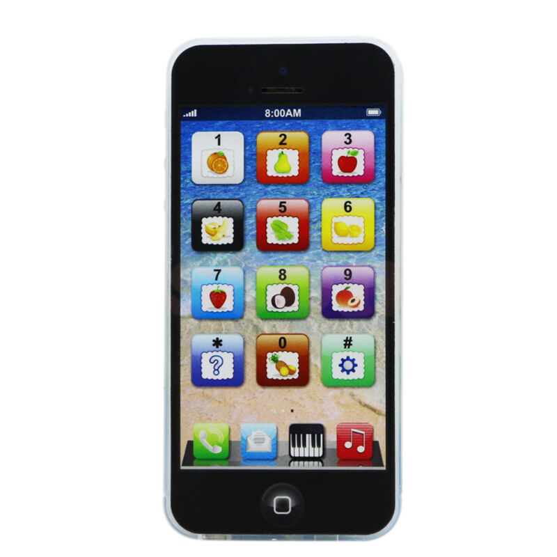 Kids Child YPhone Music Mobile Phone Study Educational Toy Gift Hot