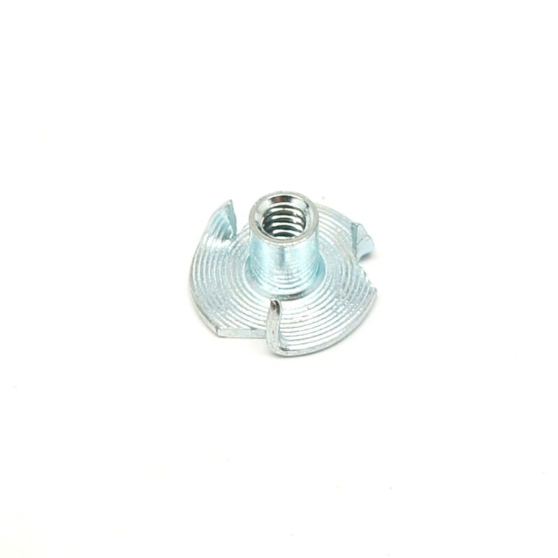 """10-24 x 5/16"""" Tee Nut 3 Prong ZP - Select Your Quantity - Wholesale Available"""