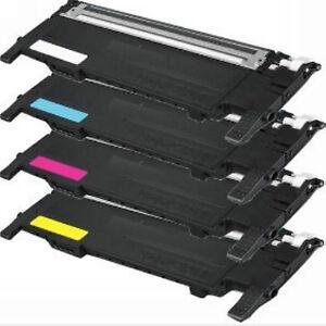 4 pk toner cartridges for samsung xpress sl c410w c460w c460fw clt 406s kcmy. Black Bedroom Furniture Sets. Home Design Ideas