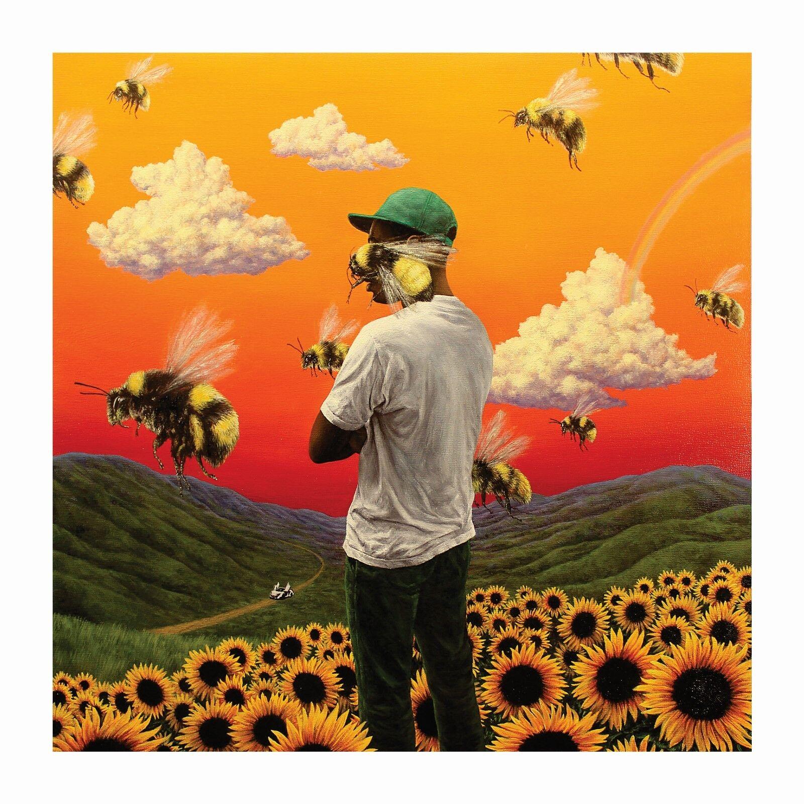 Tyler Poster Print 20 24x24 the Creator Flower Boy Rap Music Album Cover C-491