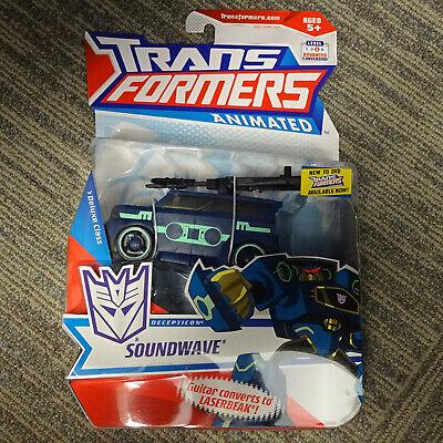 2008 Hasbro Transformers Animated Deluxe Class Soundwave w/ Laserbeak