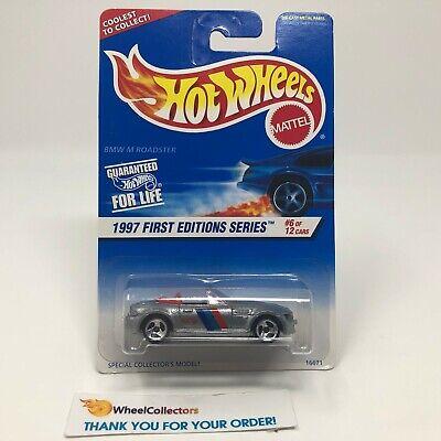 BMW M Roadster #518 * Silver w/ 3sp Rims * Hot Wheels 1997 * NA50