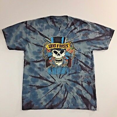 Guns N' Roses Unisex T Shirt size M  Use Your Illusion 91 Bravado Tie Die