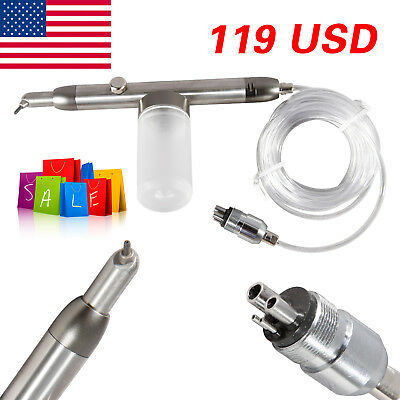 Dental Air Abrasion Polisher Microetcher Ii Sandblasting Sandblaster Polishing
