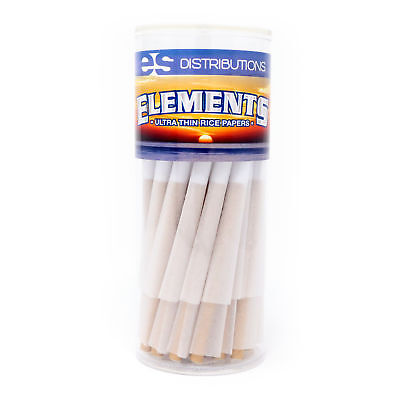 Elements Rice Paper King Size Pre-Rolled Cones