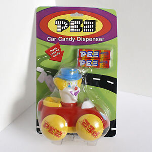 MOC Peter Pez Car Candy Dispenser Clown Novelty
