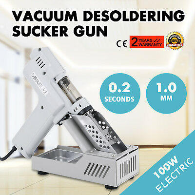 S-993a 110v 100w Electric Vacuum Desoldering Pump Solder Sucker Gun Us Fast