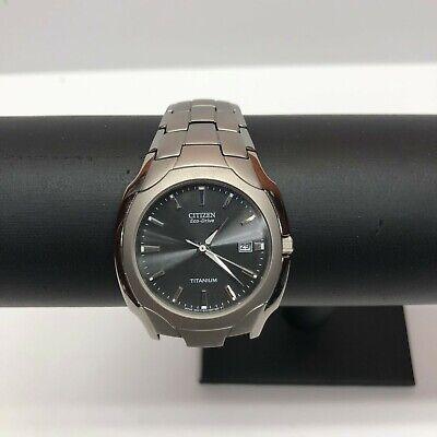 Citizen Eco Drive Men's Titanium Watch Model E111-S049610