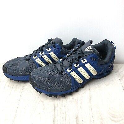 Men's Adidas KANADIA TR 6 Trainers Size UK 8.5 EU 42 Navy blue White