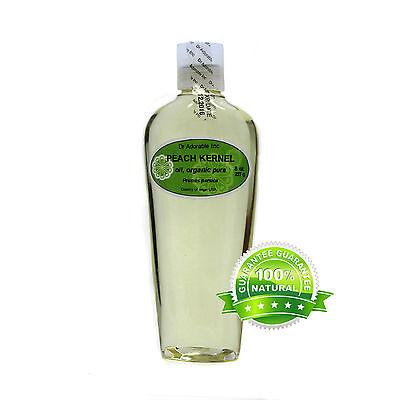 Premium Peach Kernel Oil 100% Pure Organic Cold Pressed Best 2 oz up to 7 LB 100% Pure Organic Peach