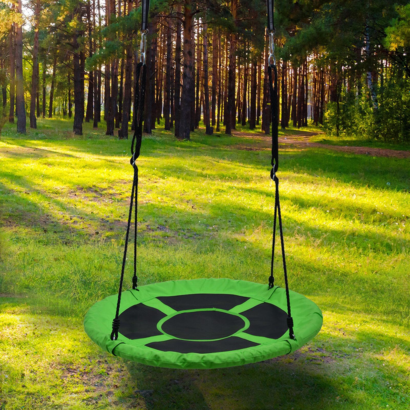 Detachable Swing Sets for Kids Playground Platform Saucer Sw