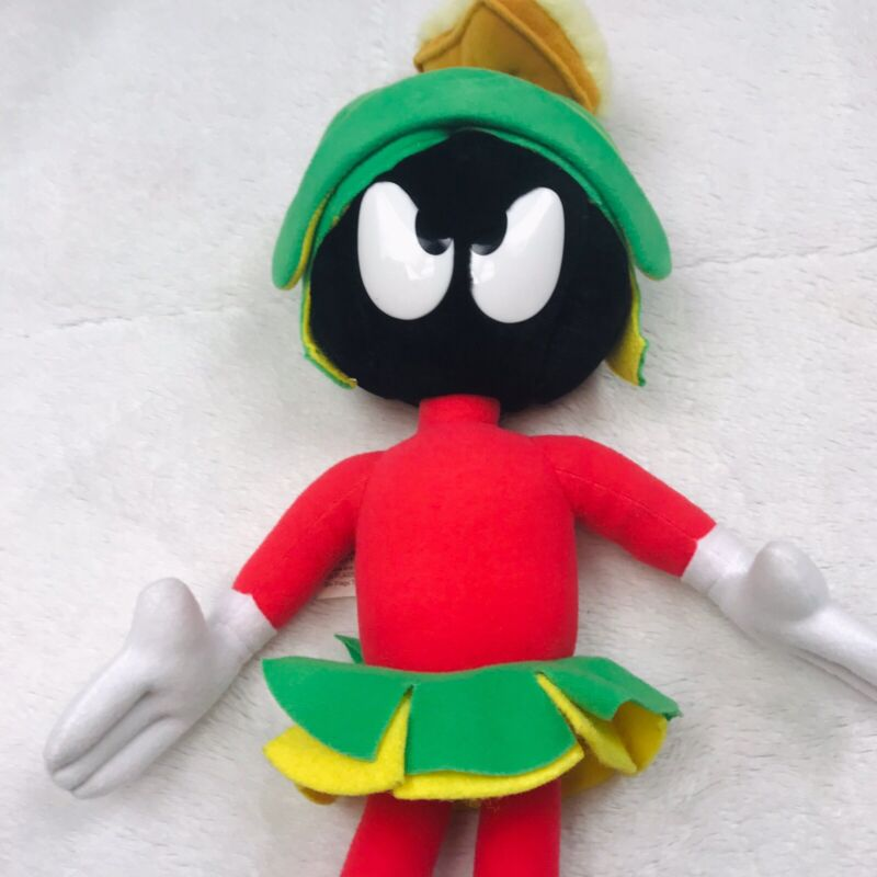 MARVIN THE MARTIAN PLUSH STUFFED TOY WARNER BROTHERS VINTAGE 1997 EXCLUSIVE