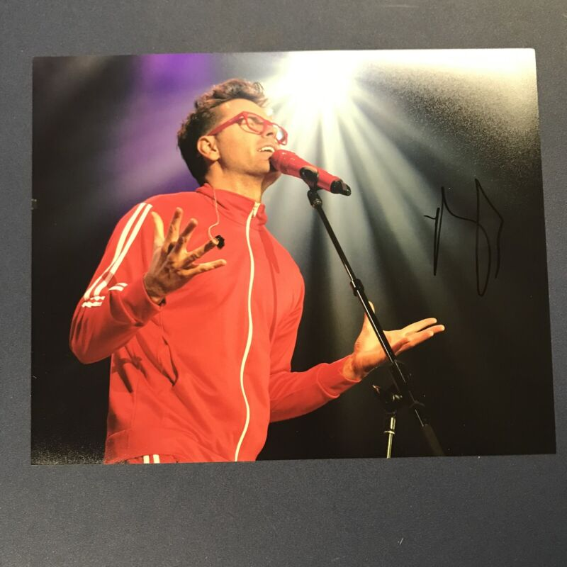 BOBBY BONES HAND SIGNED 8x10 PHOTO COMEDIAN AUTOGRAPHED COUNTRY RADIO HOST COA