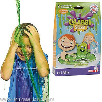 Glibbi Slime Kinder Badespaß Pulver Badewanne Planschbecken Wanne Pool Simba