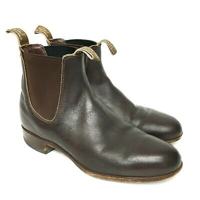 R.M. Williams Australia Craftsman Brown Men's Boot Size UK 6 G / US 7