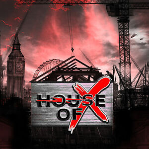House of X - Same CD 2014 British Hard Rock Laurence Archer Danny Peyronel