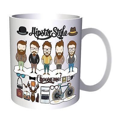 Hipster Designs Collection 11oz Mug l238 - Hipster-designs