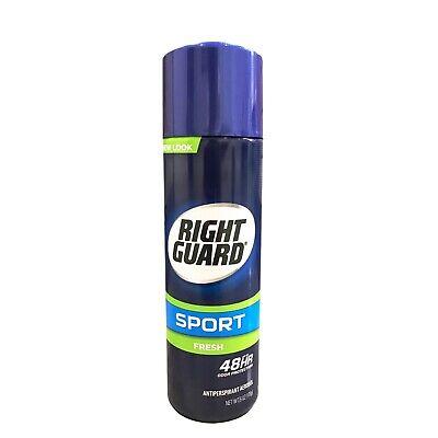 Right Guard Fresh Deodorant Aerosol Spray 6.0oz (CASE OF 12) BEST