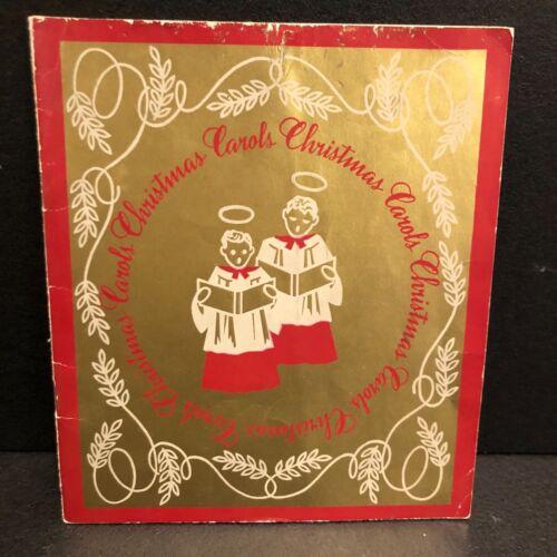 1930's Vintage Promotional Christmas Carols Booklet Pennsylvania Milk Products