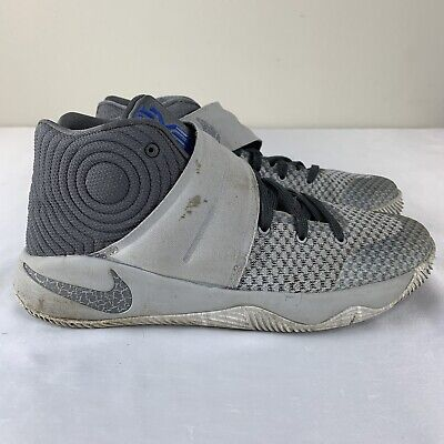 Nike Kyrie 2 Basketball Shoes Boys GS Youth Size 7Y Gray Blue Irving Athletic