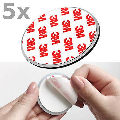 5x NEMAXX Magnethalter Klebehalter, Magnet-Halterung Befestigung für Rauchmelder