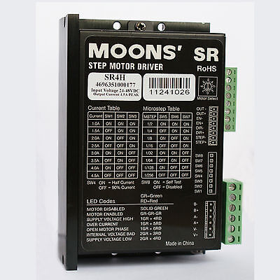 Cnc Router Driver New Stepper Motor Driver Sr4h For Cutting Engraving Milling