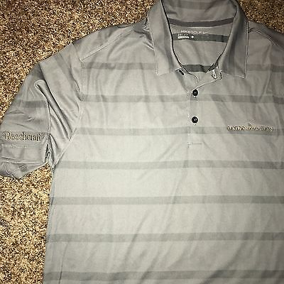 Nwt Lg Nike Golf Polo Shirt Embroidered Beechcraft Textron Aviation New