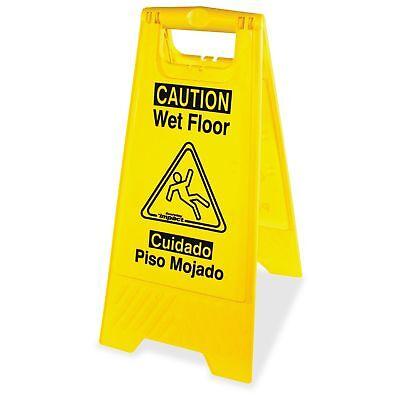 Impact Products Englishspanish Wet Floor Sign - Caution Wet Floor - 1 Width