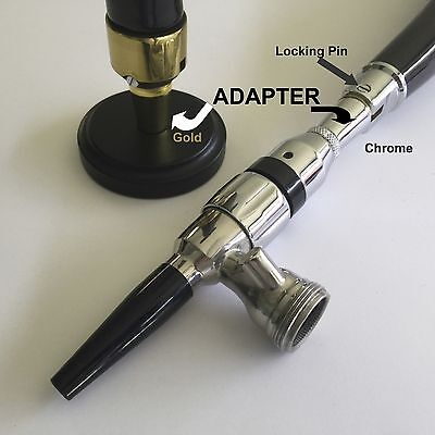 Guinness Draught Beer Tap Handle Faucet Adapter Complete Slv   Read