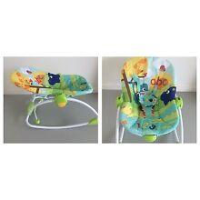 Bright stars baby rocker chair Benowa Gold Coast City Preview