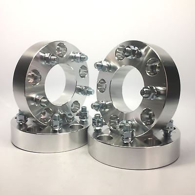 4X Custom Wheel Spacers Adapters | 5x5.5 (5x139.7) To 5x5.5 1.5 Inch | 9/16