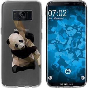 Galaxy-S8-Plus-Custodia-in-Silicone-vettore-animali-Motif-4-Case